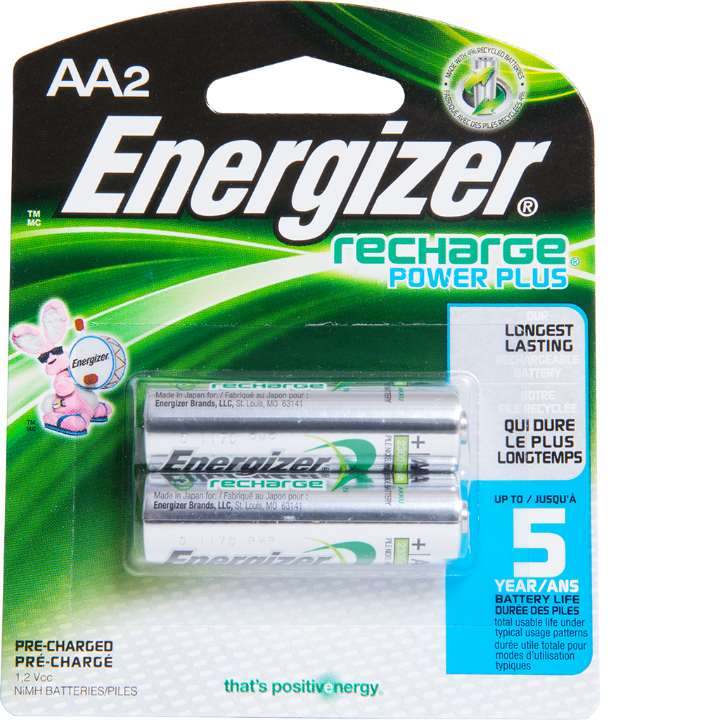 Rechargeable Aa Batteries Rainbow Technology