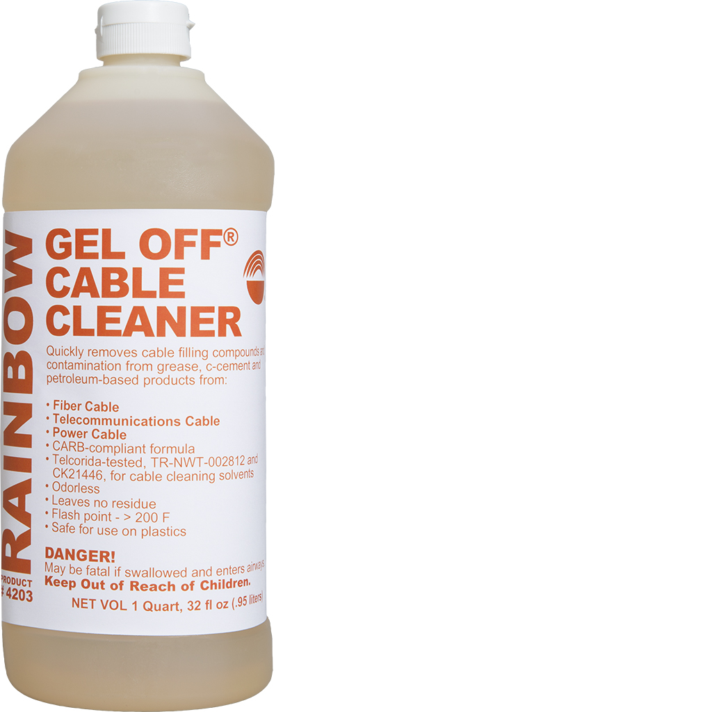 Gel Off Cable Cleaner - Rainbow Technology