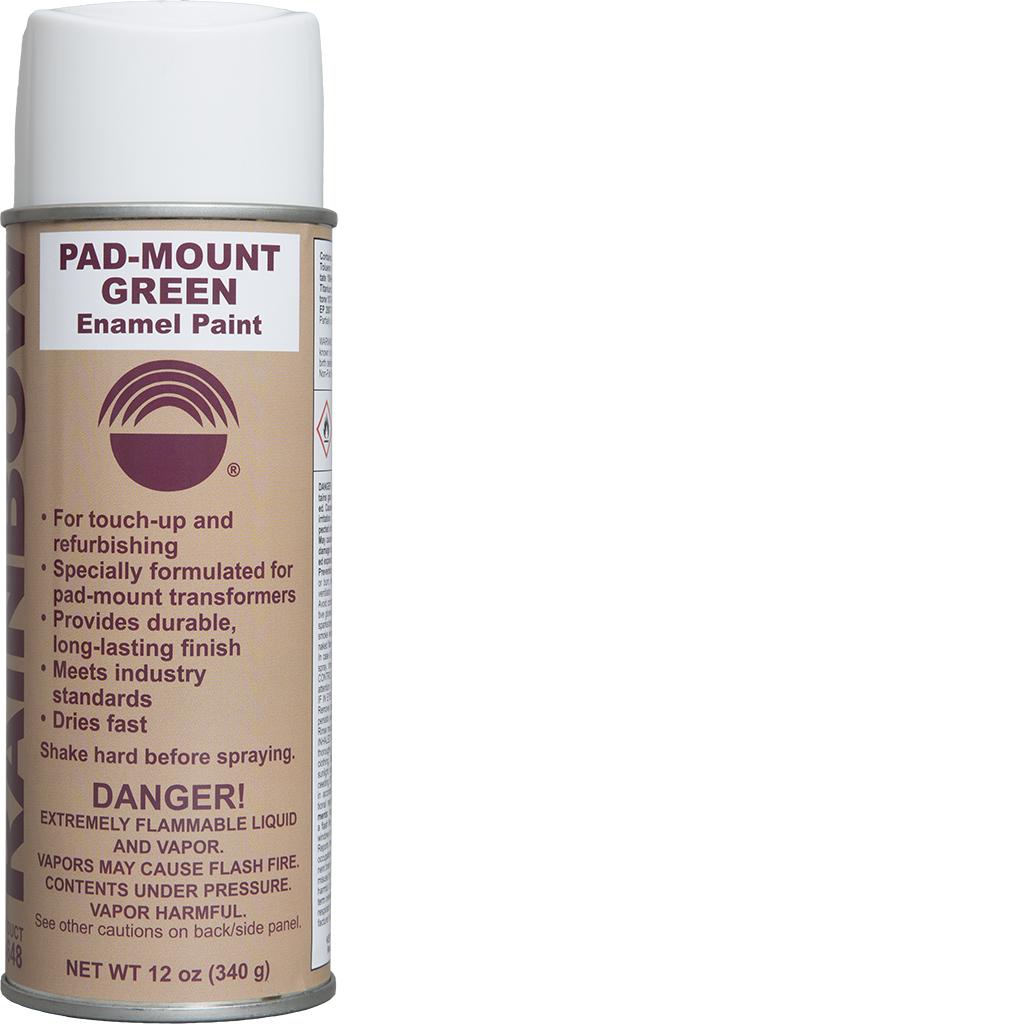 Pad-Mount Green Enamel Paint - Rainbow Technology
